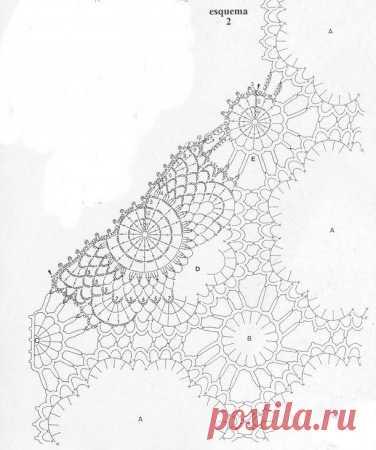 Нежный жилет из круглых мотивов крючком - схемы вязания, фото, описание