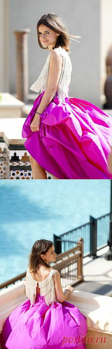 Топ с бахромой / Креатив / Модный сайт о стильной переделке одежды и интерьера