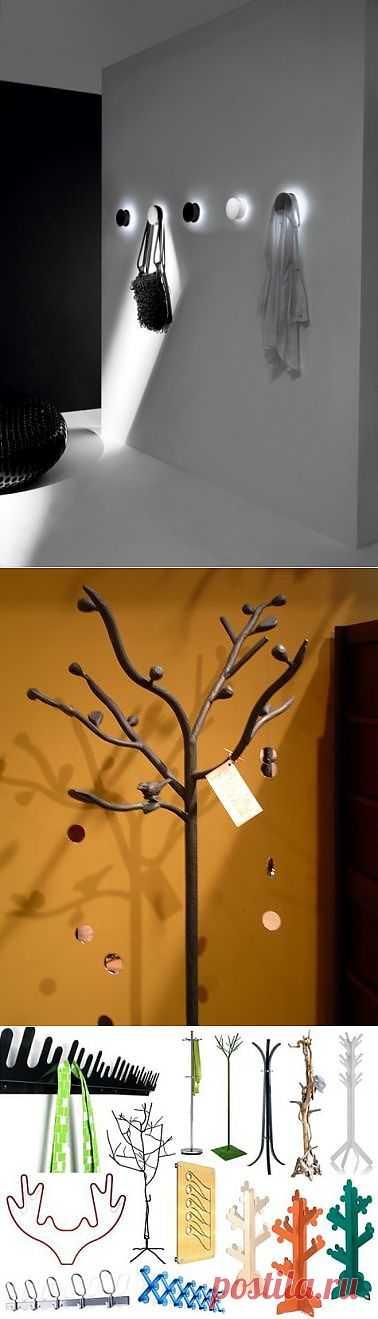 Вешалка в прихожую.Интересные варианты. / Мебель / Модный сайт о стильной переделке одежды и интерьера