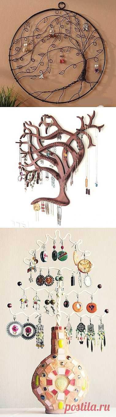 Эх, вновь деревья / Организованное хранение / Модный сайт о стильной переделке одежды и интерьера