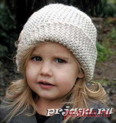 Детские шапочки, шарфики и береты спицами или крючком с описанием - Результаты из #130