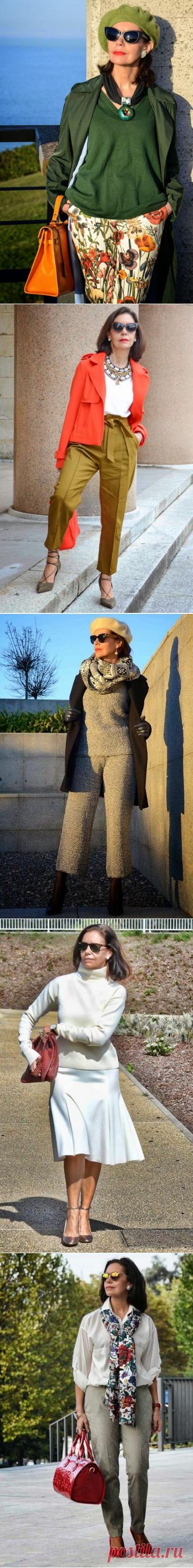 Стиль изящной модницы после 50. Вам ещё есть что показать | Glamiss | Яндекс Дзен