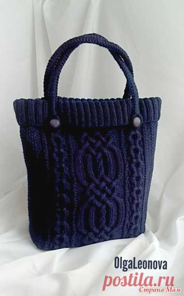 вязаная сумка тоут ручная работа вязание страна мам сумки
