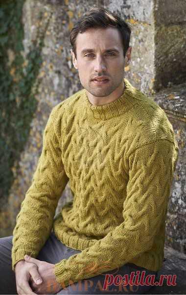 Мужской пуловер «Birnam Oak» | DAMские PALьчики. ru