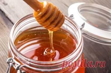 Печень чистим медом!