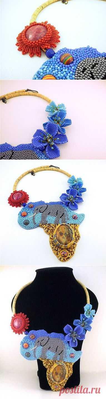 Слон   biser.info - всё о бисере и бисерном творчестве