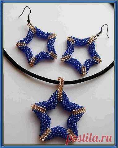 Звезда | biser.info - всё о бисере и бисерном творчестве