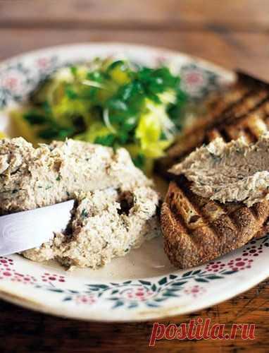 Пасхальные рецепты. Блюда из рыбы - рецепты паштета из скумбрии и салата | Рецепты Джейми Оливера
