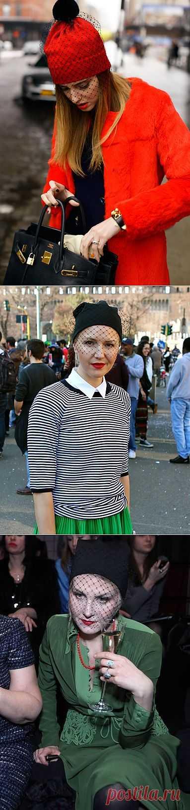 Знаменитости в шапках с вуалью (подборка) / Тенденции / Модный сайт о стильной переделке одежды и интерьера