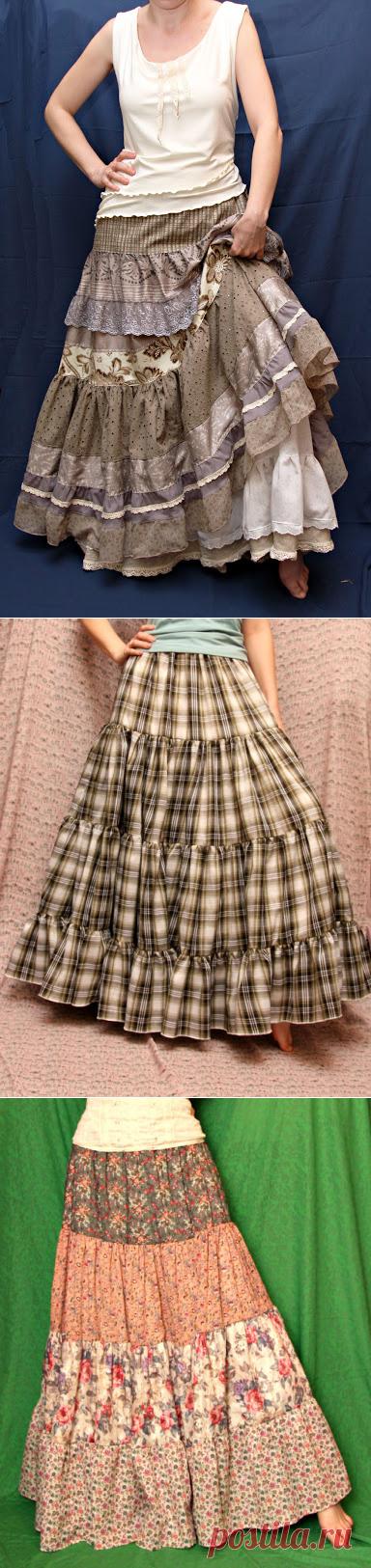 Ода ярусным юбкам