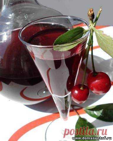 Как сделать домашнее вино. Вино из вишни
