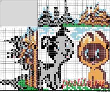 вышивка котенок гав схема  10 тыс изображений найдено в Яндекс.Картинках fc1c22952b4e6