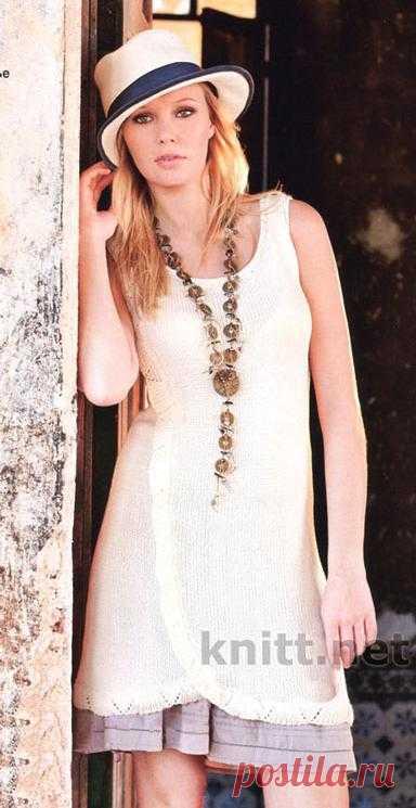 Платье без рукавов | knitt.net | Все о вязании