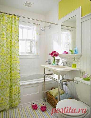 Переделка маленькой ванной. Для владельцев небольших ванных всегда было проблемой - как создать на такой маленькой площади функциональное и эстетичное пространство.