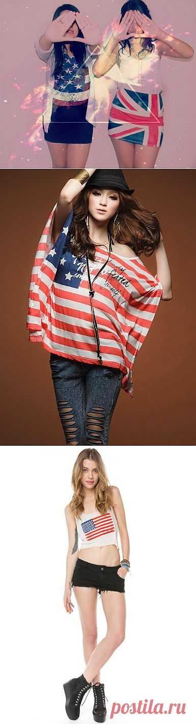 Америка ждет!(трафик) / Рисунки и надписи / Модный сайт о стильной переделке одежды и интерьера