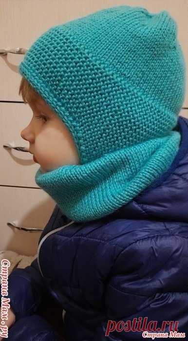Детская шапочка. МК Здравствуйте, дорогие рукодельницы! Хочу предложить вашему вниманию шапочку для ребёнка 3-4 лет.  Нижняя планка вяжется отдельно, из неё поднимаем петельки и вяжем верх шапочки.