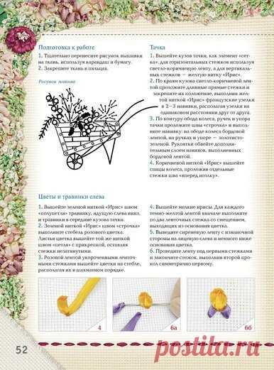 Вышивка лентами.Самый полный и понятный самоучитель — Yandex.Disk