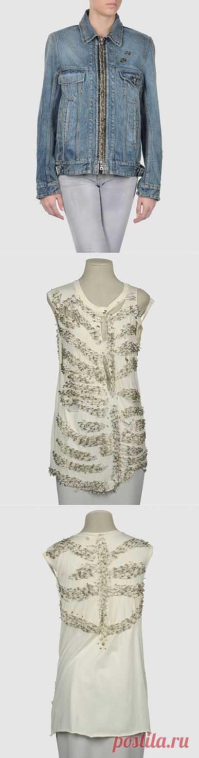 Куртка BALMAIN + футболка / Курточные переделки / Модный сайт о стильной переделке одежды и интерьера