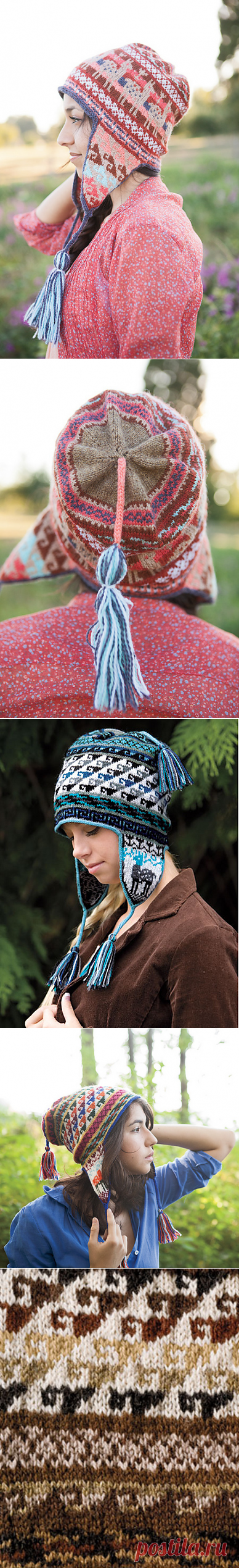 ddad2f34640 Ravelry  Andean Chullo Hat pattern by Kerin Dimeler-Laurence