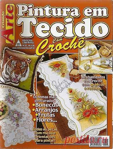 Tita Carré - Agulha e Tricot : Revista Pintura em tecido