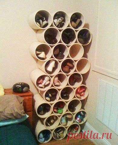 Полка для обуви необязательно стоит бешеных денег! / Как сэкономить
