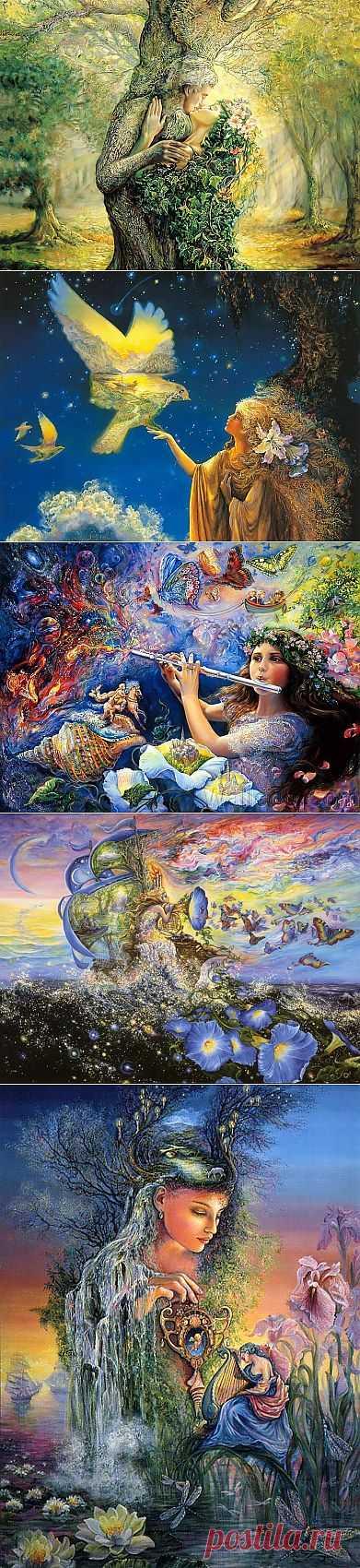 Необыкновенный мир Жозефины Уолл! Волшебный сон, сказка!