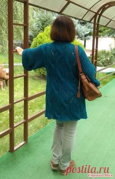 Кардиган из Nako Peru - Вязание - Страна Мам
