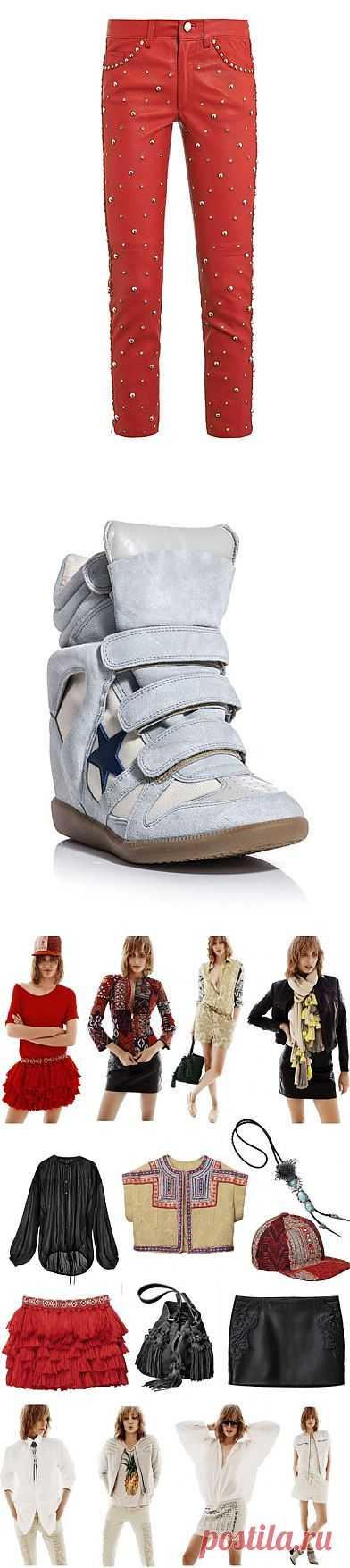 5 вещей Isabel Marant +15 / Дизайнеры / Модный сайт о стильной переделке одежды и интерьера
