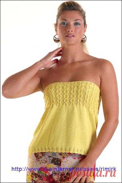 Yellow top from the Bouton d'Or catalog (spoke).