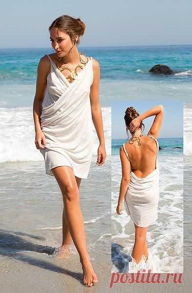 Чувственное платье - элементарно!