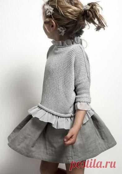 Платья для девочек. Идеи для вдохновения.