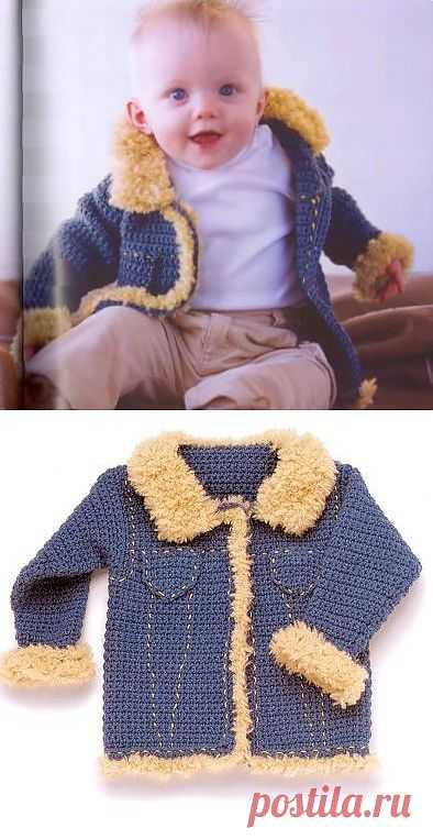 """""""Джинсовая"""" куртка. Есть подробное описание модели."""