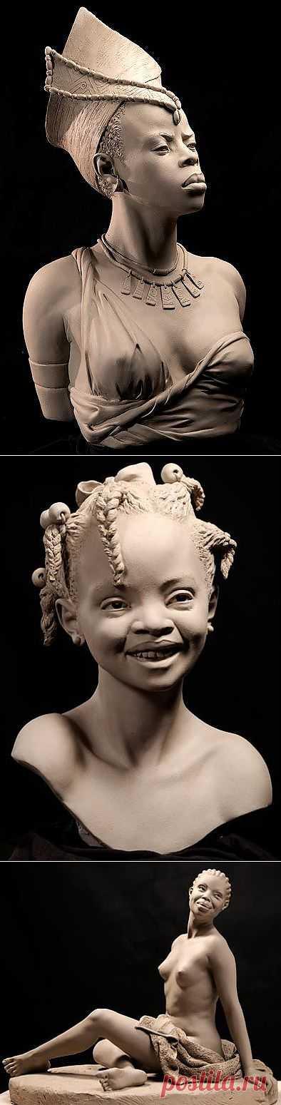Philippe Faraut. Скульптуры из глины. | Искусство