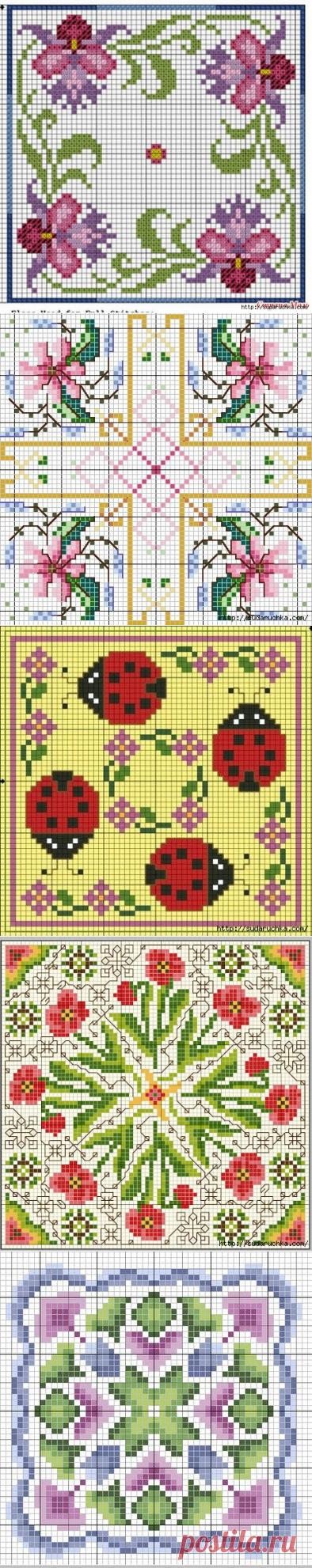 Бискорню - схемы для вышивки крестом.