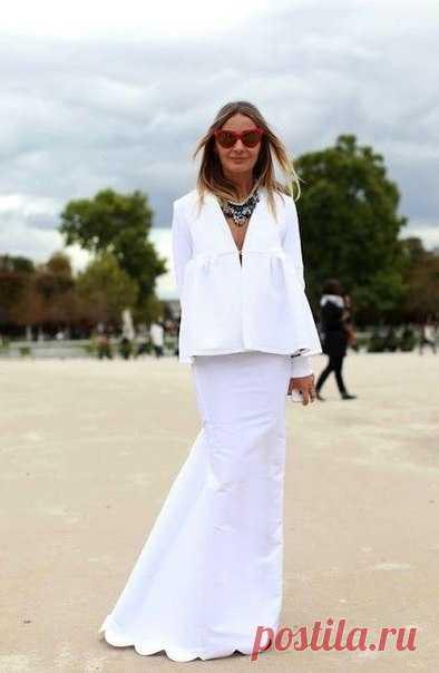 ¡Look! ¡Blanco! — es a la moda \/ Nemodno
