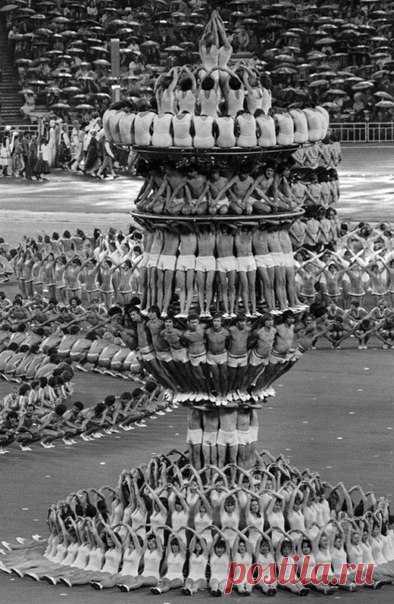 Церемония открытия Олимпийских игр в Москве, 19 июля 1980 года