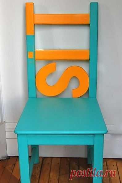 Кастомайзинг стула (мастер-класс) / Мебель / Модный сайт о стильной переделке одежды и интерьера