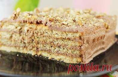 Превосходный торт из печенья без выпечки - самый простой рецепт | Вкусняшки | Яндекс Дзен
