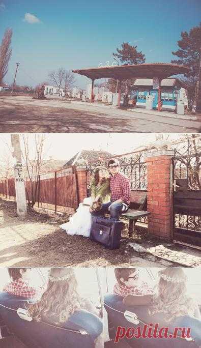 День солнца и любви: love-story Андрея и Анны - WeddyWood
