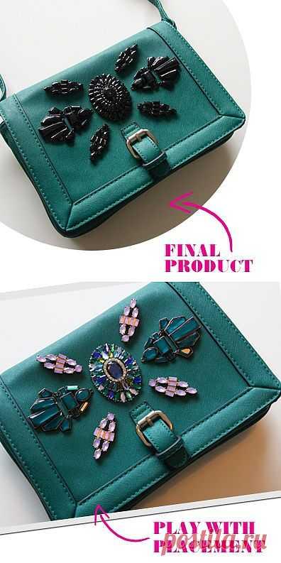 Декор сумки (Diy) / Сумки, клатчи, чемоданы / Модный сайт о стильной переделке одежды и интерьера