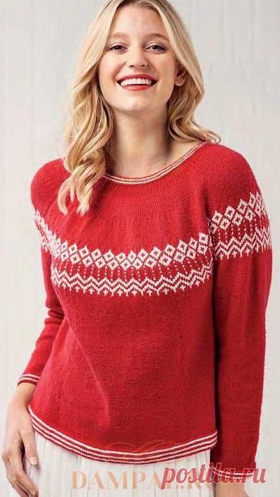 Женский пуловер «Christmas»