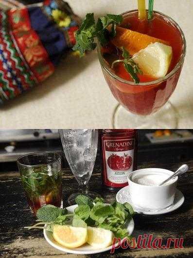Холодный чай «Тюбетейка»