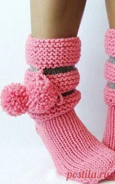 Вязаные сапожки, готовимся к холодам! из категории Интересные идеи – Вязаные идеи, идеи для вязания