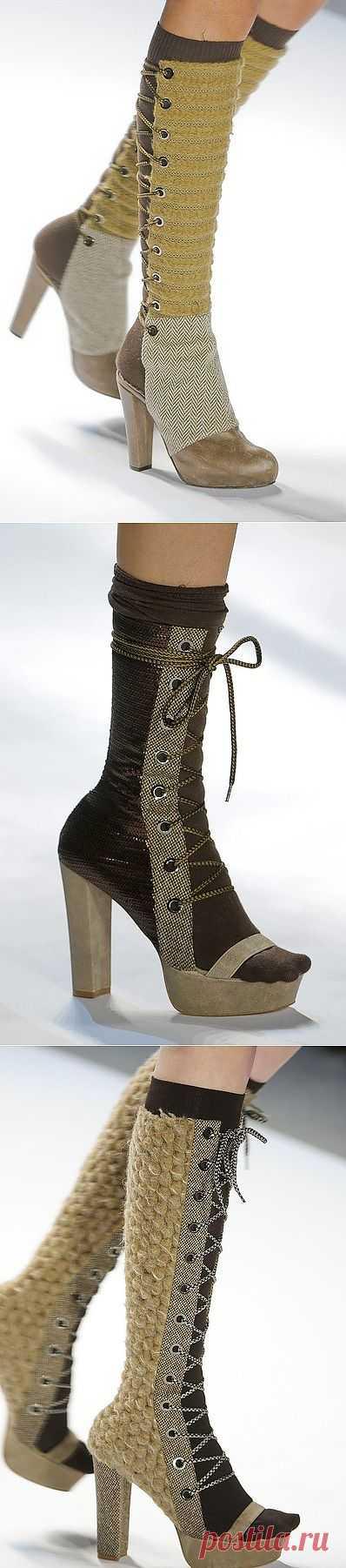 Немного интересной обуви / Обувь / Модный сайт о стильной переделке одежды и интерьера