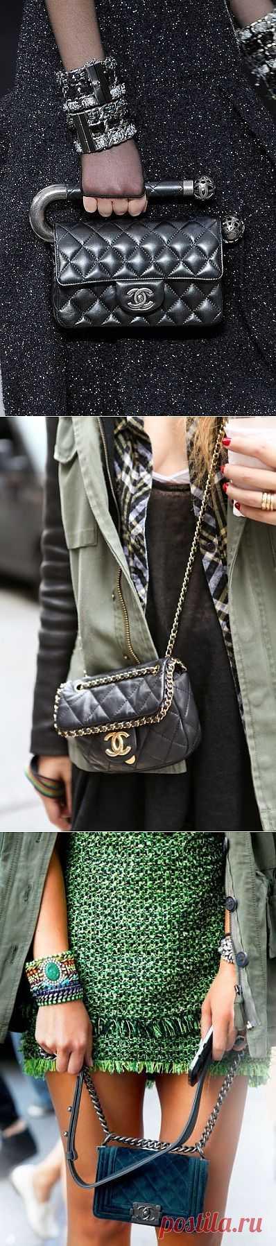 Три необычные сумочки CHANEL / Сумки, клатчи, чемоданы / Модный сайт о стильной переделке одежды и интерьера
