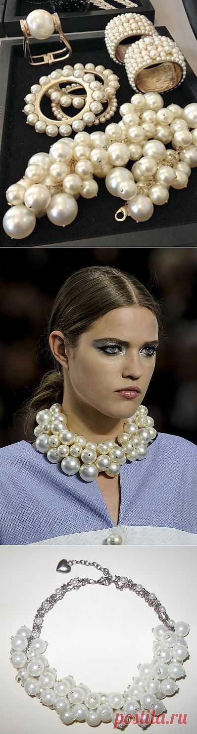 Колье: от Chanel до Zara, от Zara до DIY (Мастер-класс) / Украшения и бижутерия / Модный сайт о стильной переделке одежды и интерьера