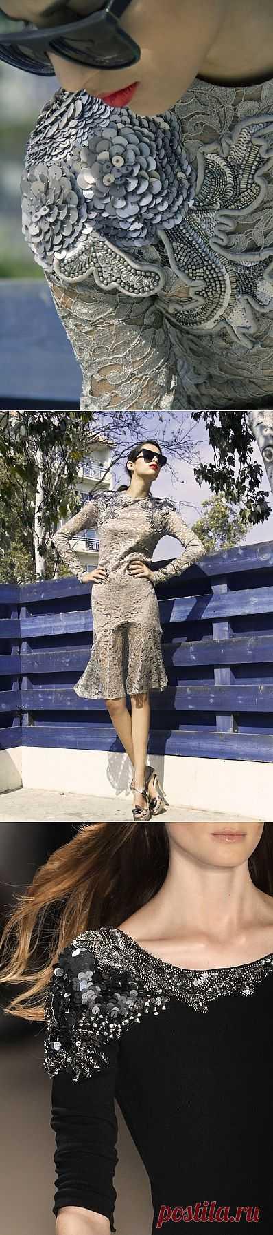 Два похожих красивых декора / Нарядно / Модный сайт о стильной переделке одежды и интерьера