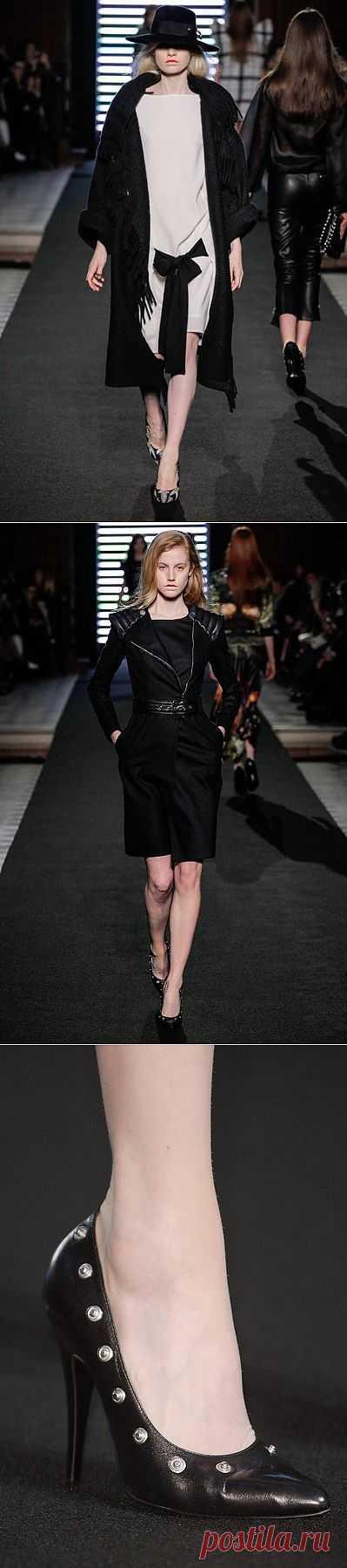 Детали коллекции Jean-Charles de Castelbajac Fall 2013 (трафик) / Лукбуки / Модный сайт о стильной переделке одежды и интерьера