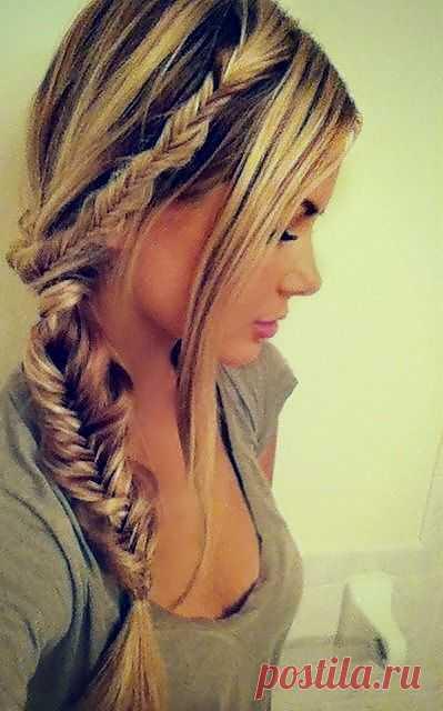 Красивые косы можно носить так повседневно, так и на выпускной вечер или свадьбу ... | Волосы Hai ...