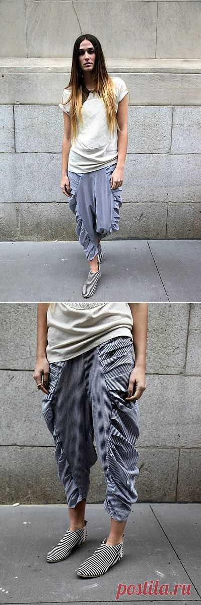 Шаровары / Брюки / Модный сайт о стильной переделке одежды и интерьера